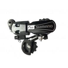 Переключатель задний Shimano Tourney RD-TY21-B-GS, 6 скоростей (болт) (модель 2018 года)