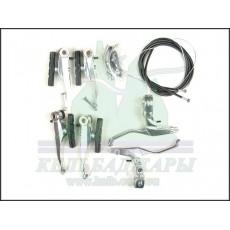 V-brake MTB алюминиевый (с ручками)