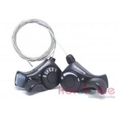 Манетка Shimano Thumb Shifter Plus SL-TX30-6R/3L